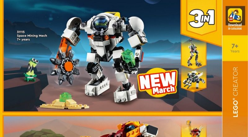 LEGO Creator 3 In 1 2021 Catalogue Featured 800x445
