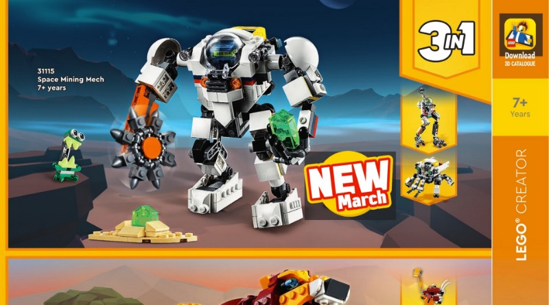 LEGO Creator 3 In 1 2021 Catalogue Featured
