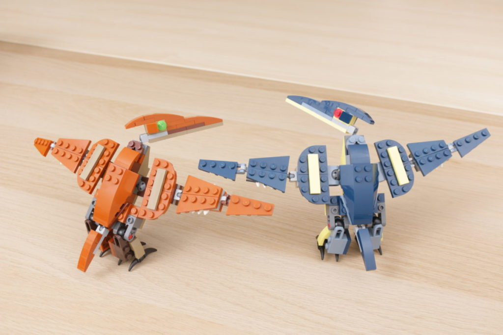 LEGO Creator 3 in 1 77940 Mighty Dinosaurs and 77941 Mighty Dinosaurs review 10
