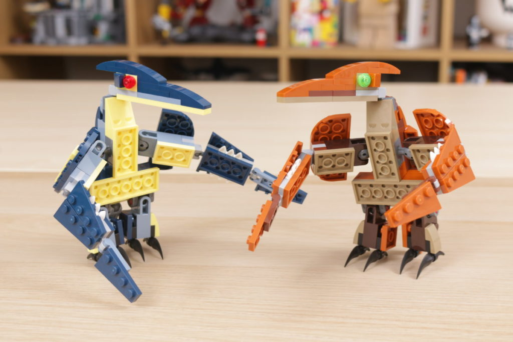 LEGO Creator 3 in 1 77940 Mighty Dinosaurs and 77941 Mighty Dinosaurs review 13