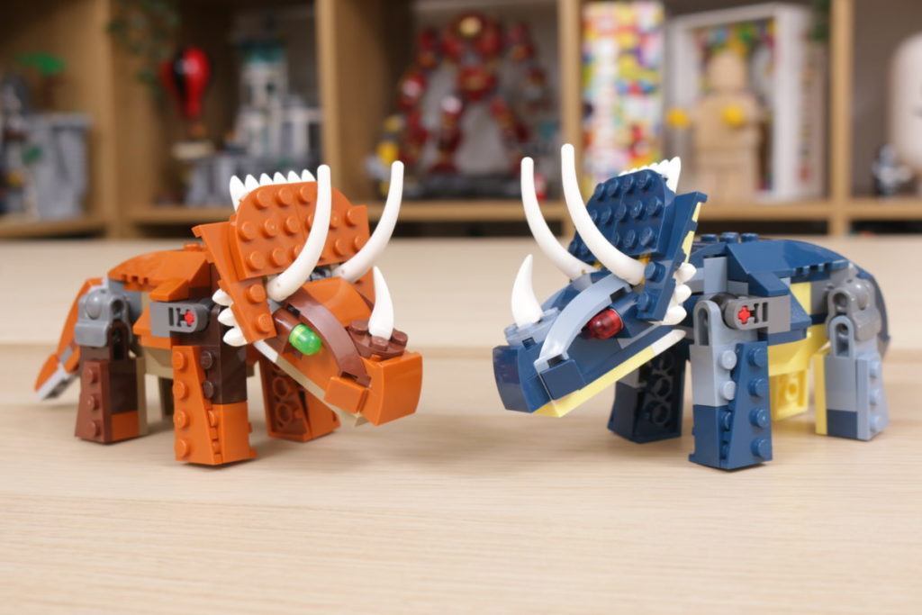 LEGO Creator 3 in 1 77940 Mighty Dinosaurs and 77941 Mighty Dinosaurs review 20