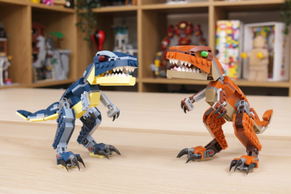 LEGO Creator 3 in 1 77940 Mighty Dinosaurs and 77941 Mighty Dinosaurs review 21