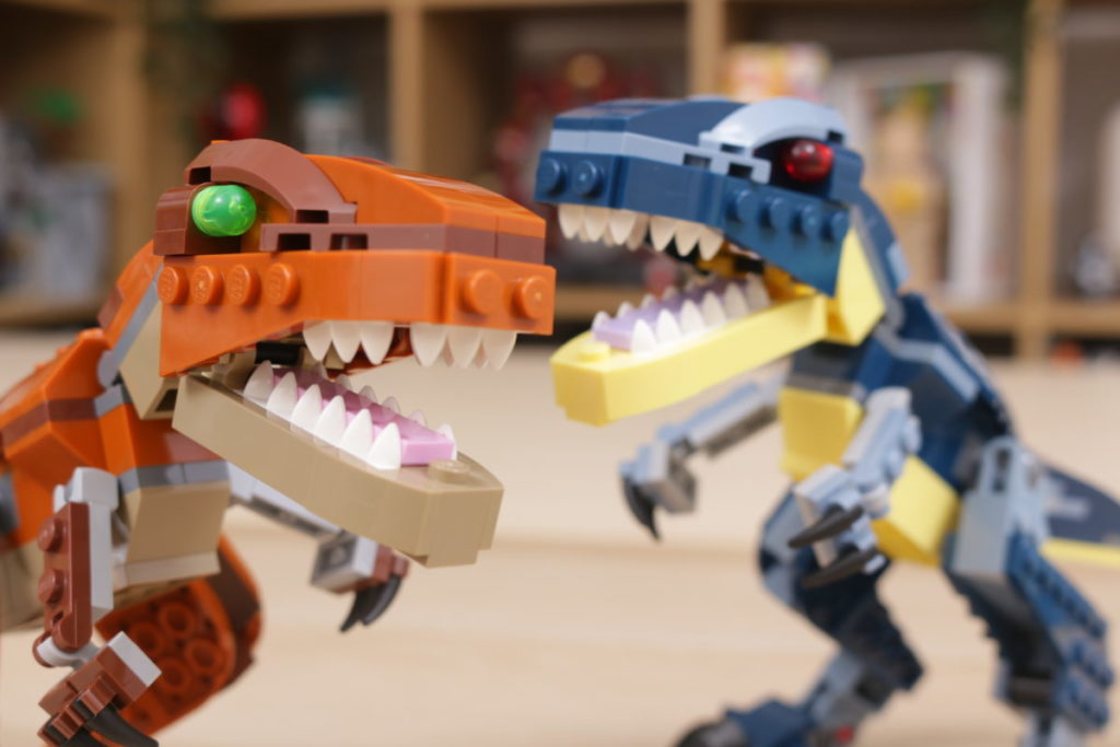 LEGO Creator 3 in 1 77940 Mighty Dinosaurs and 77941 Mighty Dinosaurs review 30