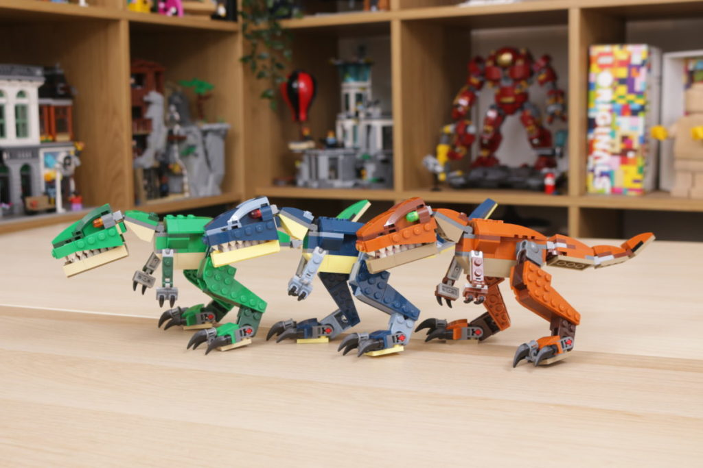LEGO Creator 3 in 1 77940 Mighty Dinosaurs and 77941 Mighty Dinosaurs review 35