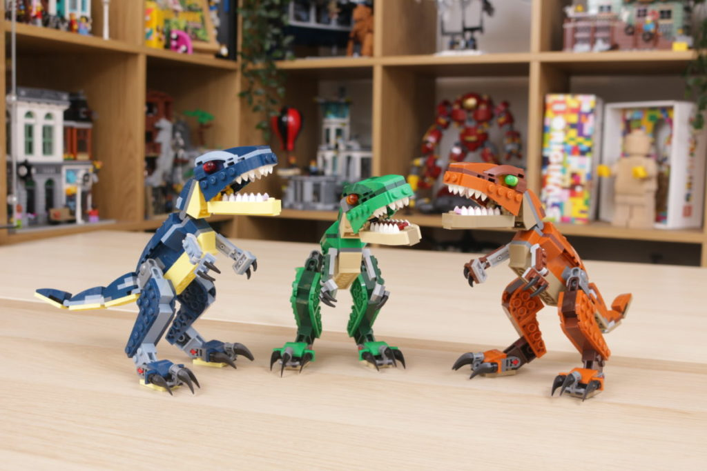 LEGO Creator 3 in 1 77940 Mighty Dinosaurs and 77941 Mighty Dinosaurs review 37