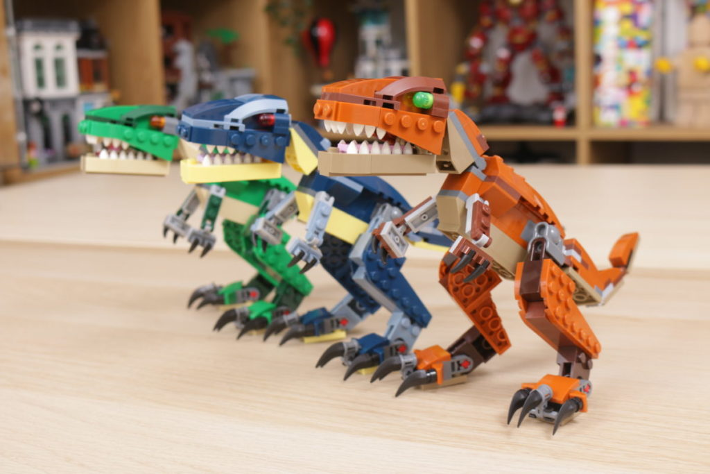 LEGO Creator 3 in 1 77940 Mighty Dinosaurs and 77941 Mighty Dinosaurs review 38