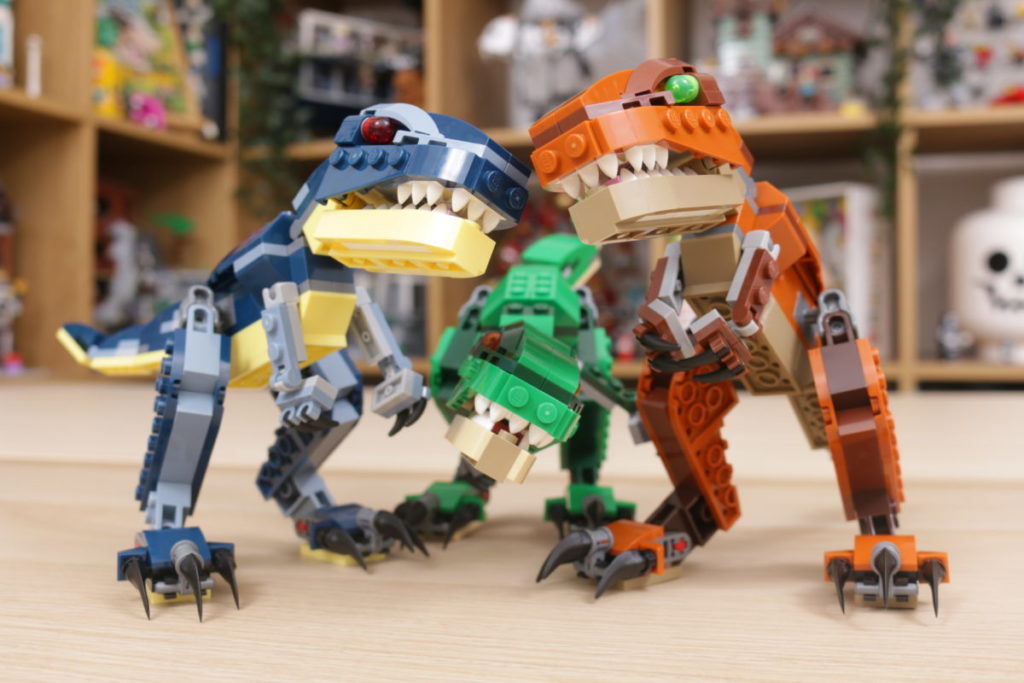LEGO Creator 3 in 1 77940 Mighty Dinosaurs and 77941 Mighty Dinosaurs review 40