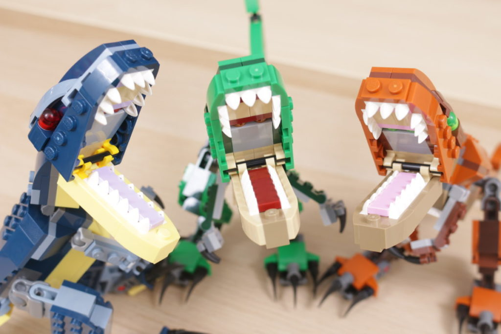 LEGO Creator 3 in 1 77940 Mighty Dinosaurs and 77941 Mighty Dinosaurs review 41