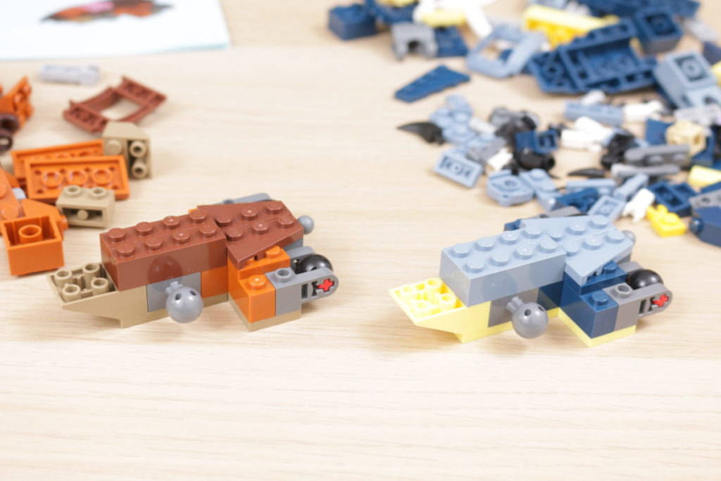 LEGO Creator 3 in 1 77940 Mighty Dinosaurs and 77941 Mighty Dinosaurs review 8