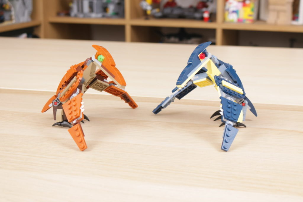 LEGO Creator 3 in 1 77940 Mighty Dinosaurs and 77941 Mighty Dinosaurs review 9