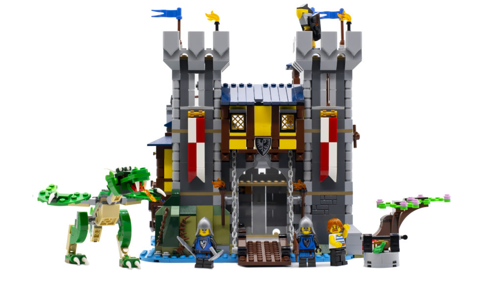LEGO Creator 3 in 1 Medieval Castle 31120 68