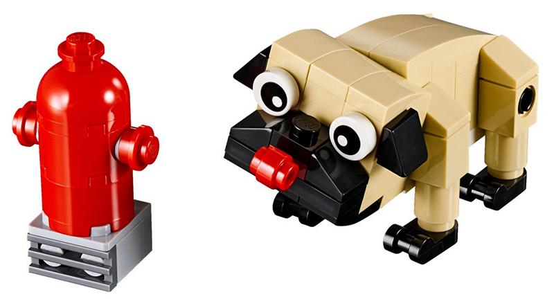 LEGO Creator 30542 Cute Pug Featured
