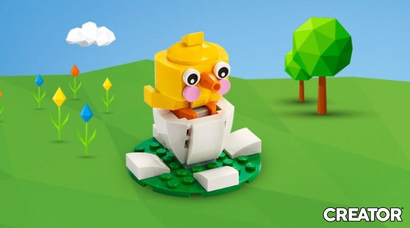 LEGO Creator 30579 Easter Chick Egg Banner Featured 800x445