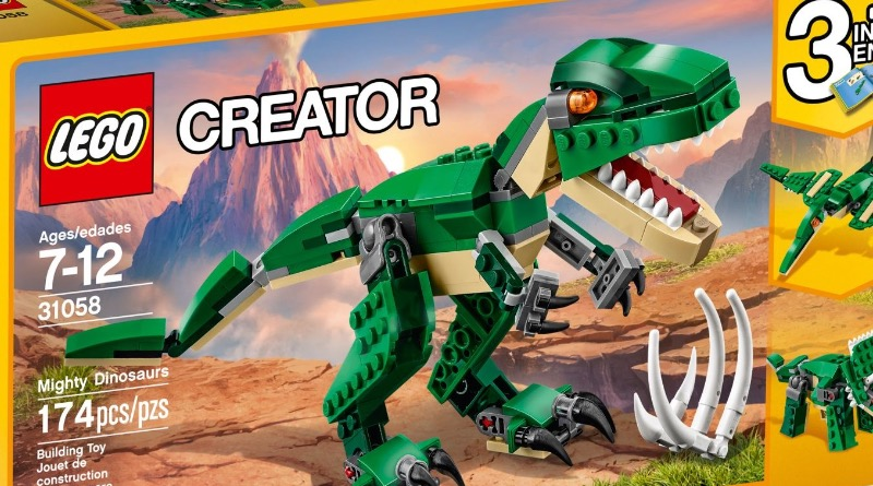 LEGO Creator 31058 Mighty Dinosaurs Featured
