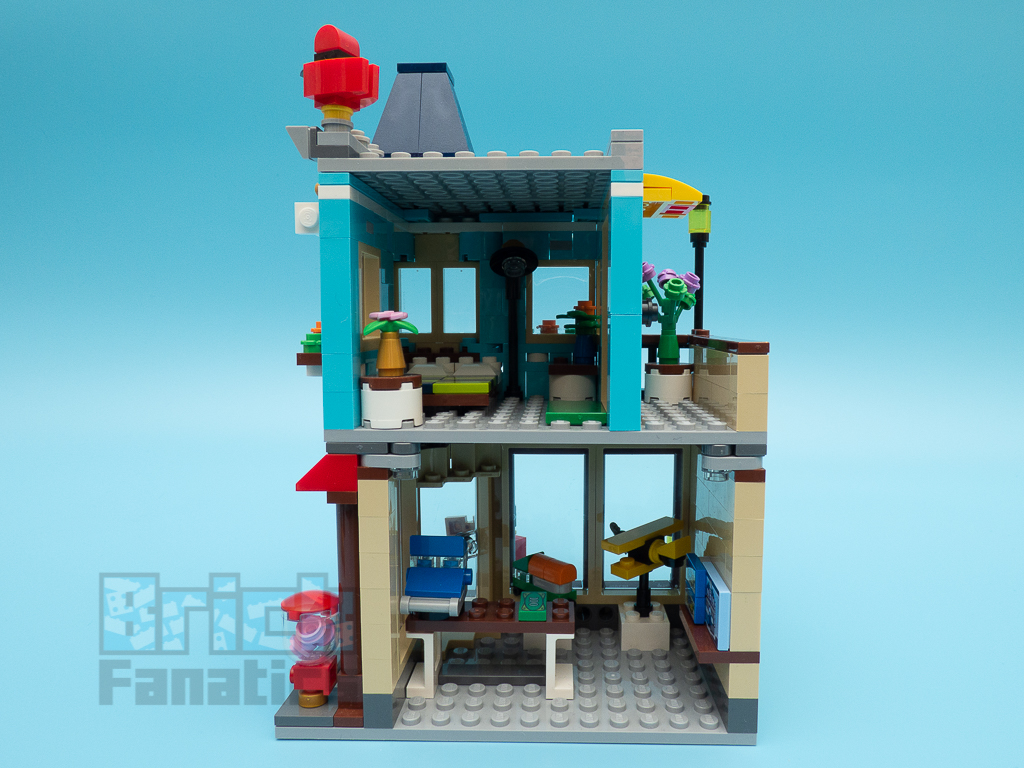 LEGO Creator 31105 Townhouse Toy Store 7