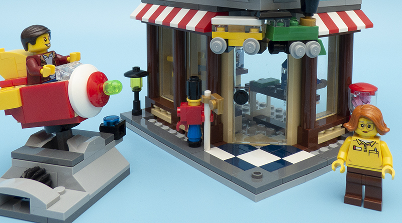 LEGO Creator 31105 Townhouse Toyshop Featured