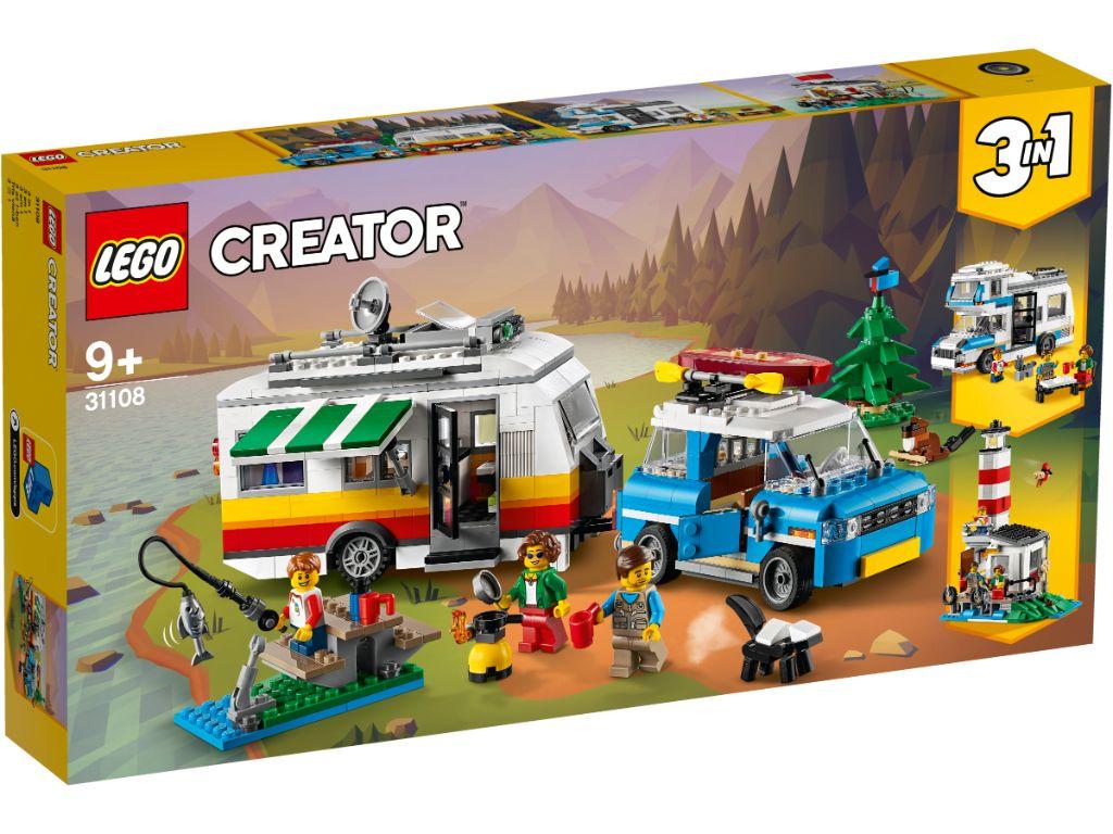 LEGO Creator 31108 Caravan Family Holiday 1