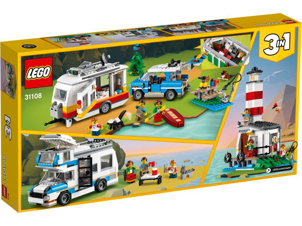 LEGO Creator 31108 Caravan Family Holiday 2