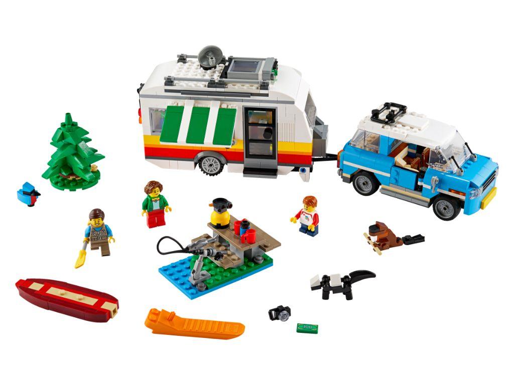 LEGO Creator 31108 Caravan Family Holiday 3