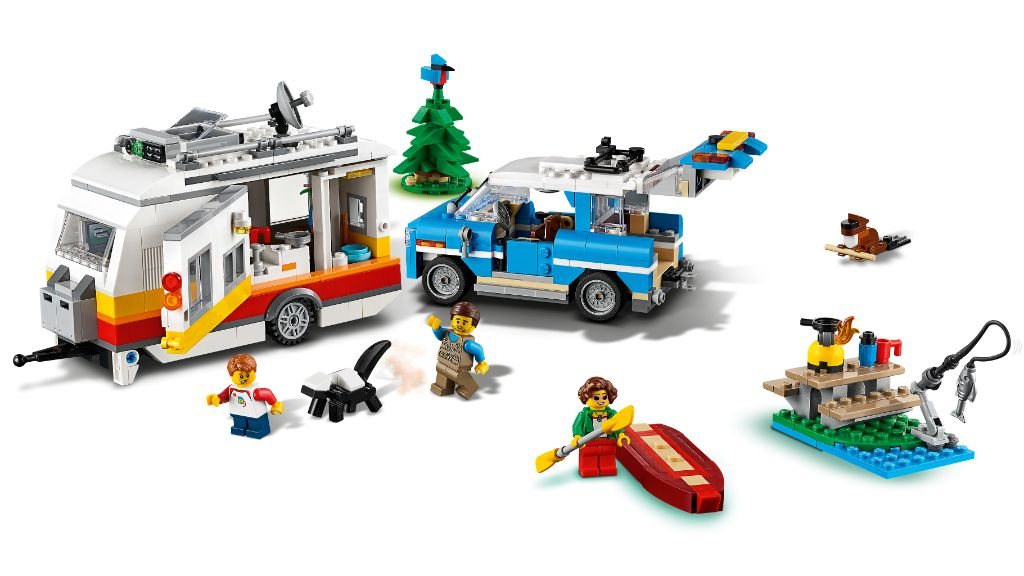 LEGO Creator 31108 Caravan Family Holiday 5