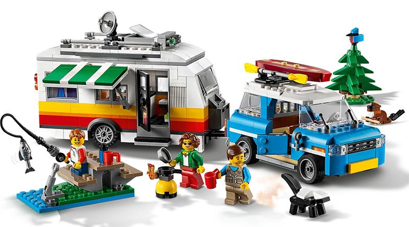 LEGO Creator 31108 Caravan Family Holiday Featured 1
