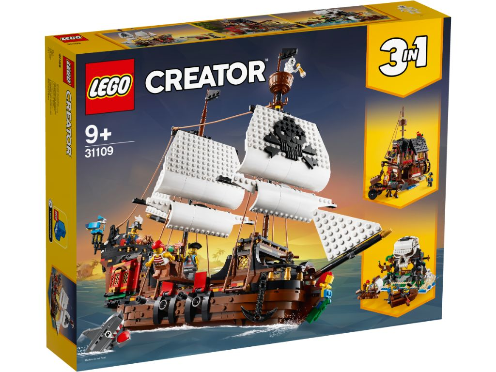 LEGO Creator 31109 Pirate Ship 1 1