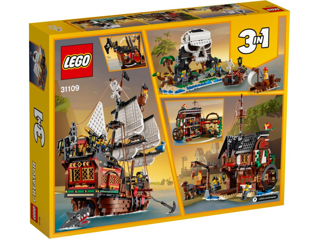 LEGO Creator 31109 Pirate Ship 2 1