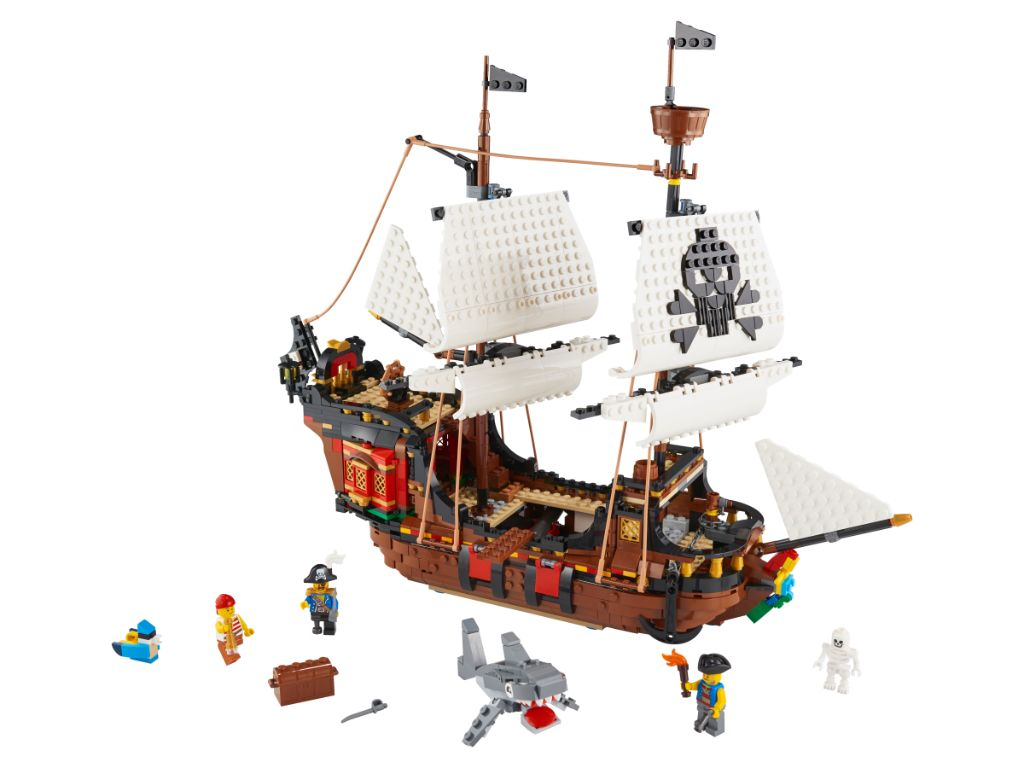 LEGO Creator 31109 Pirate Ship 3 1