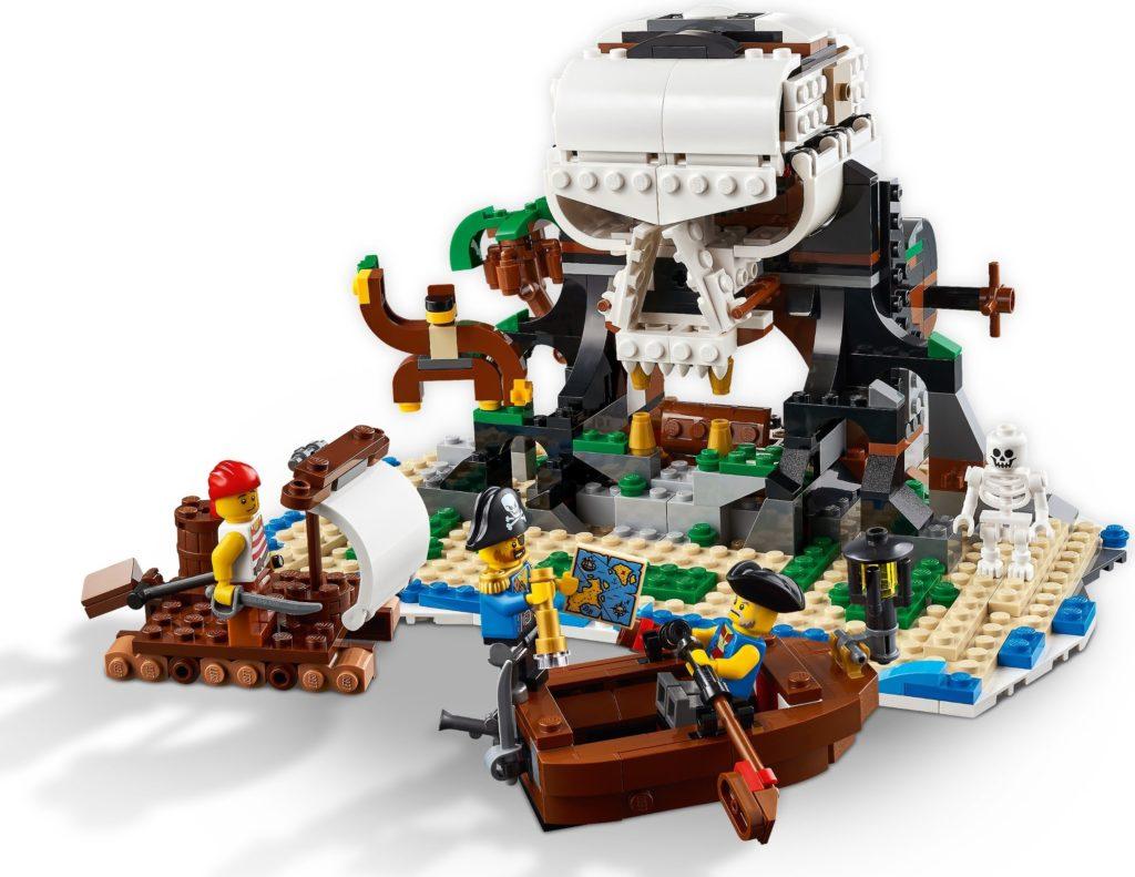 LEGO Creator 31109 Pirate Ship Alt Build