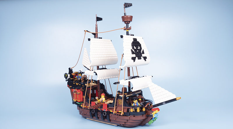 LEGO Creator 31109 Pirate Ship Featured 1 800x445
