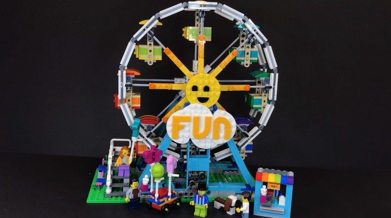 LEGO Creator 31119 Ferris Wheel first look featured