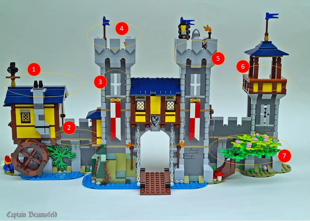 LEGO Creator 31120 Medieval Castle MOD 1