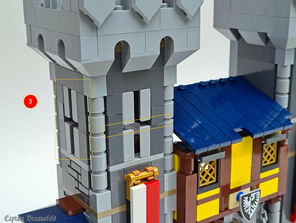 LEGO Creator 31120 Medieval Castle MOD 4