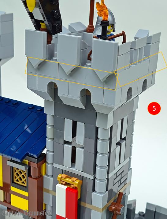 LEGO Creator 31120 Medieval Castle MOD 6