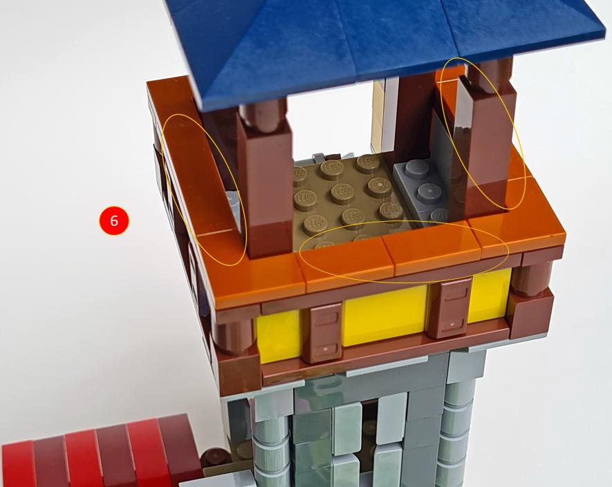 LEGO Creator 31120 Medieval Castle MOD 7