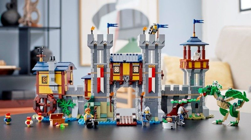 LEGO Creator 31120 Medieval Castle lifestyle featured