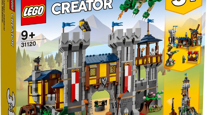 LEGO Creator 31120 Featured