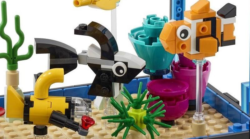 LEGO Creator 31122 Fish Bowl Featured 800x445