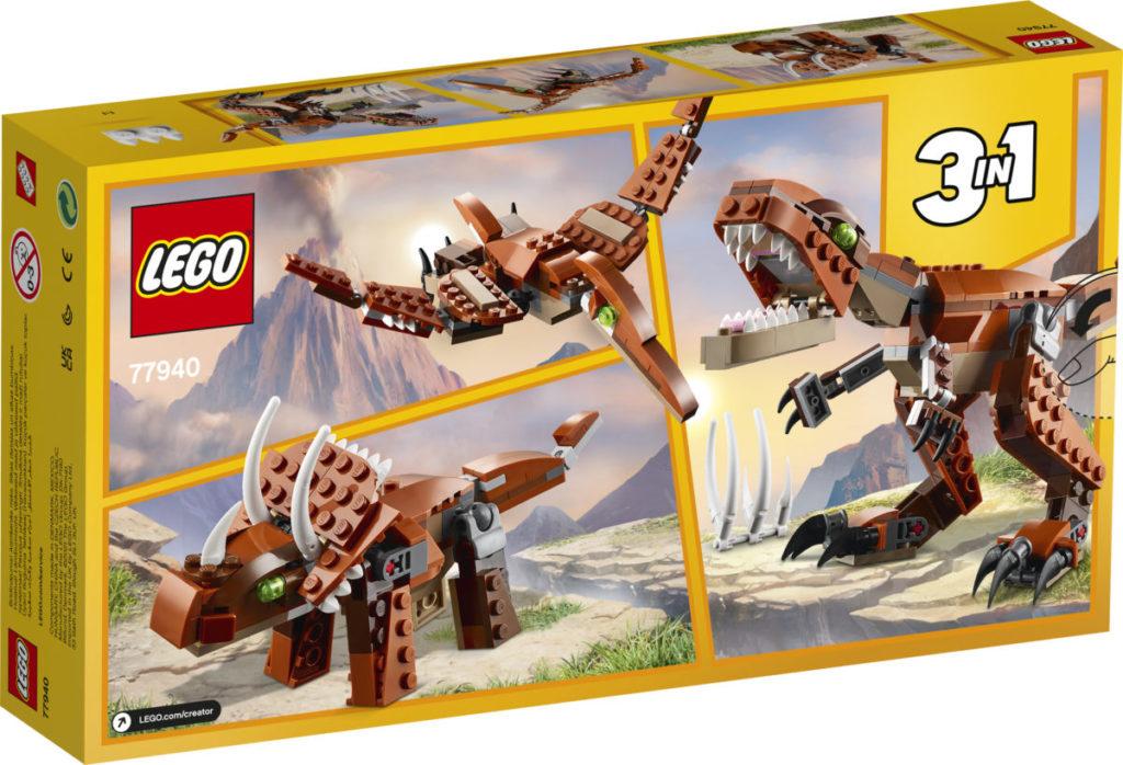 LEGO Creator 77940 Mighty Dinosaurs 7