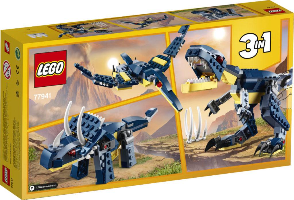 LEGO Creator 77941 Mighty Dinosaurs 8