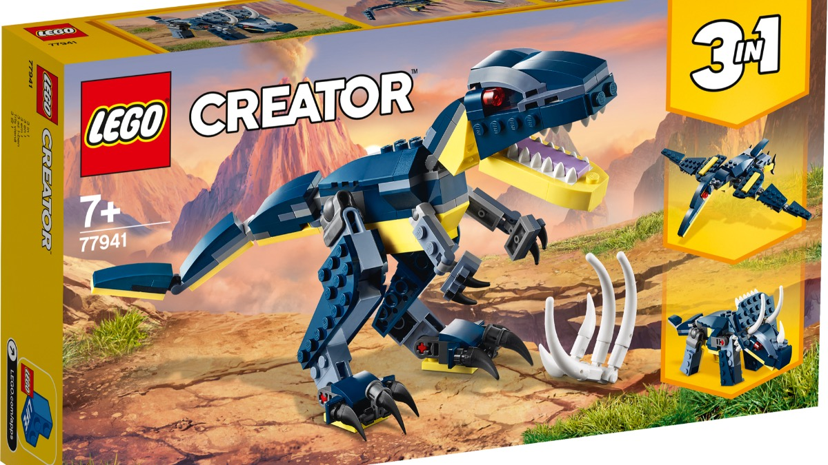 LEGO Creator 77941 Mighty Dinosaurs Featured