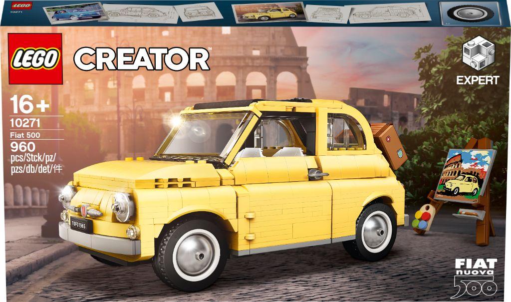 LEGO Creator Exoert 10271 Fiat 500 12