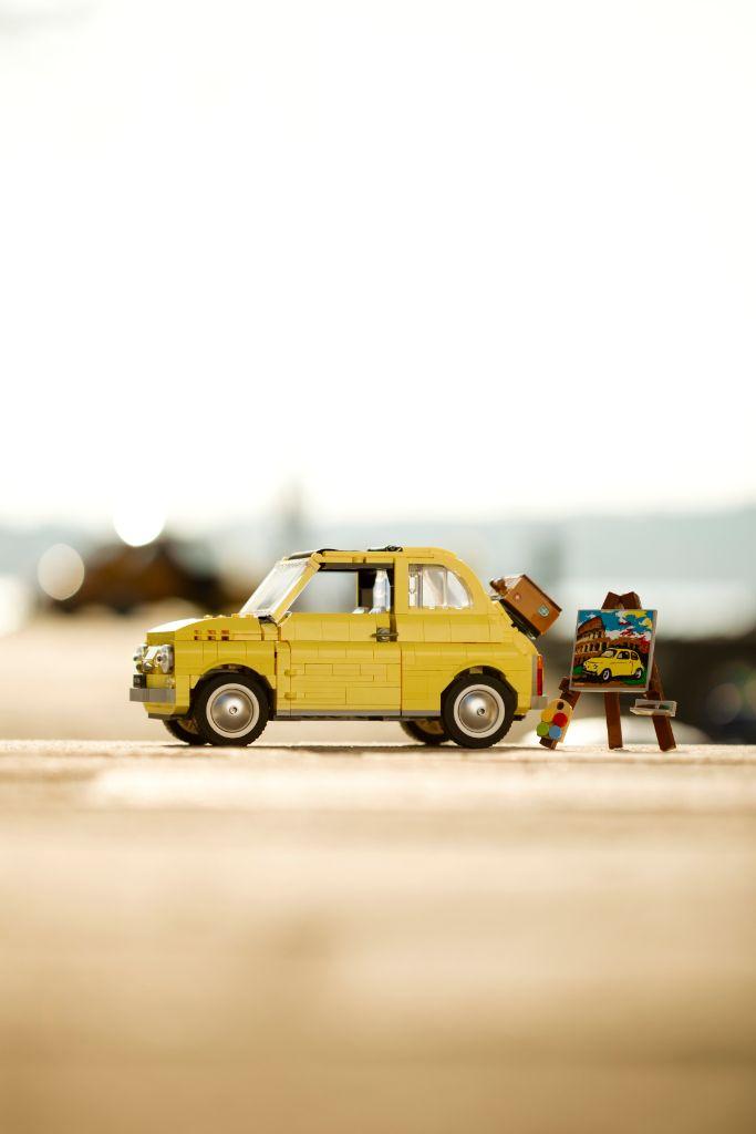 LEGO Creator Exoert 10271 Fiat 500 4