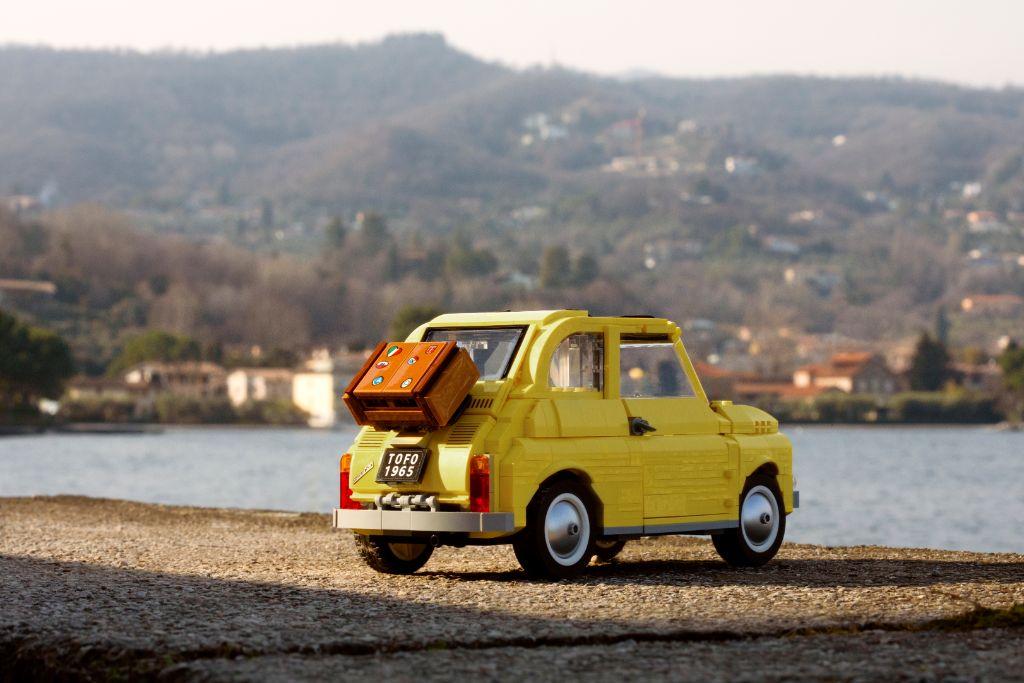 LEGO Creator Exoert 10271 Fiat 500 7