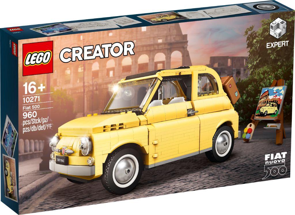 LEGO Creator Exoert 10271 Fiat 500 9
