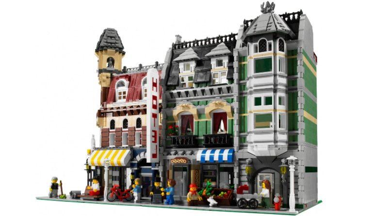 LEGO Creator Expert 10182 Cafe Corner 10185 Green Grocer featured