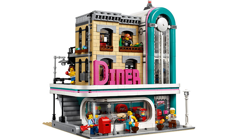 Lego Creator Expert 10260 Downtown Diner အသွင်အပြင်