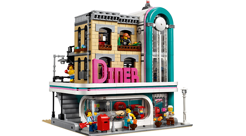 LEGO Creator Expert 10260 Downtown Diner Featured