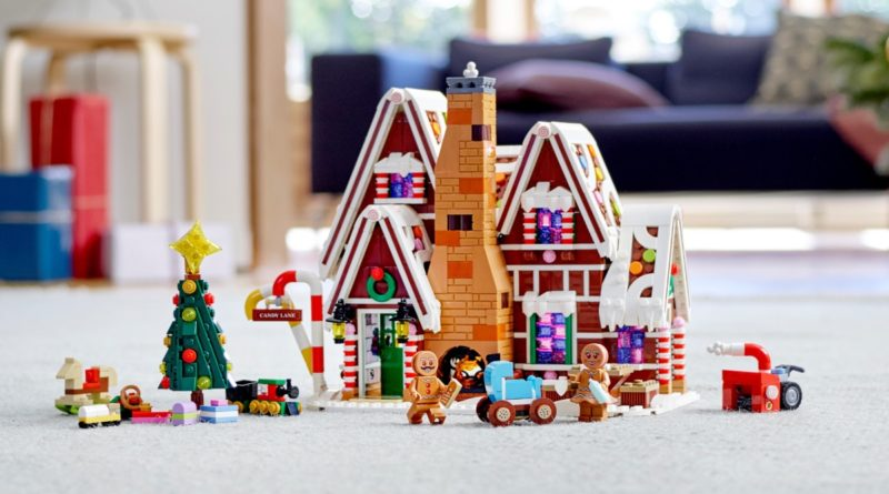 LEGO Creator Expert 10267 Gingerbread House featured resized