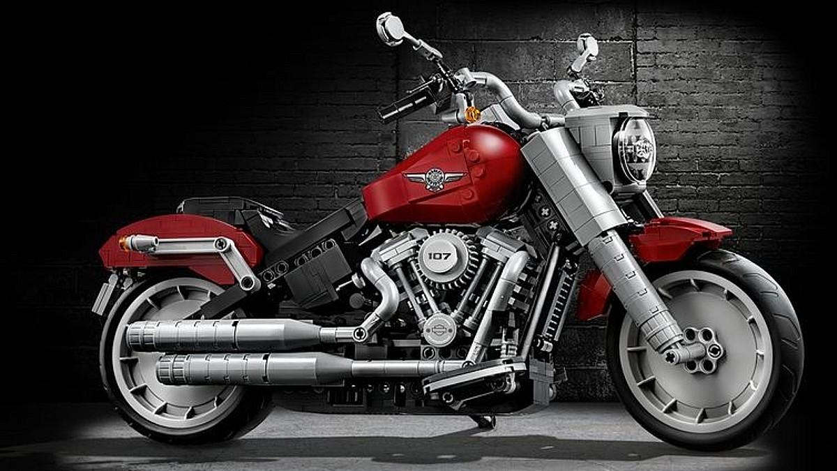 LEGO Creator Expert 10269 Harley Davidson Fat Boy Key Art Featured
